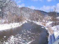 Rzeka górska Muszynka